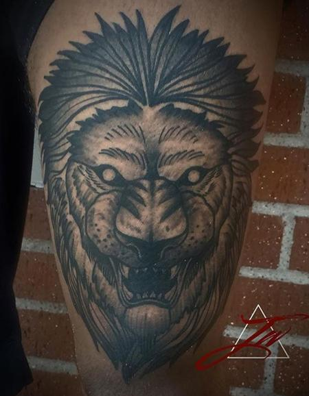 Tattoos - Lion - 131448
