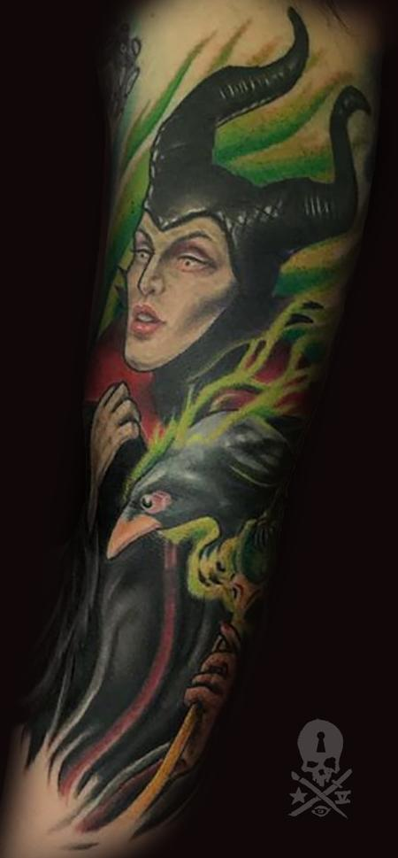 Tattoos - Maleficent - 131917