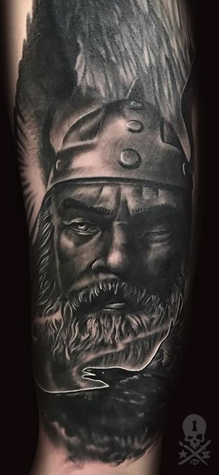 Tattoos - Odin and Ravens - 131918