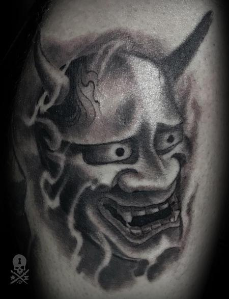 Tattoos - Oni mask - 130269