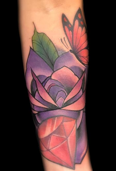 Tattoos - Rose/Ruby - 129095