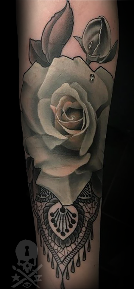 Tattoos - Rose - 133253