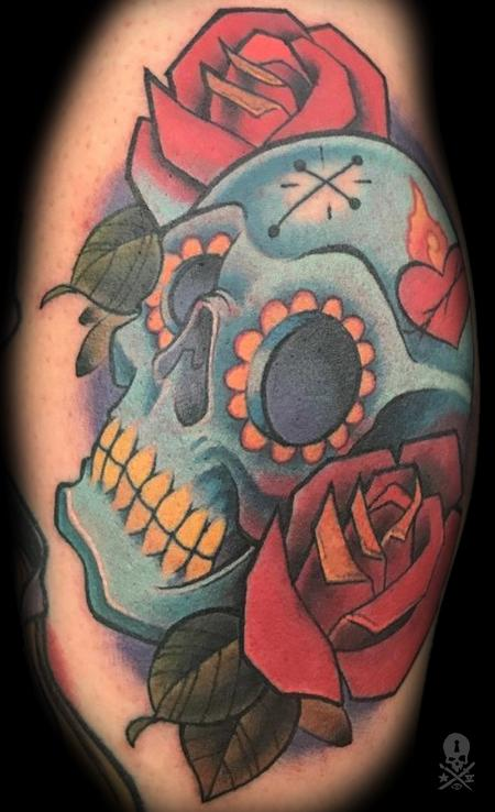 Tattoos - SugarSkull - 130167