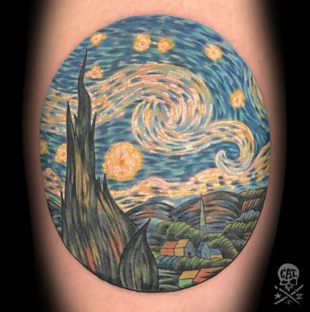 Tattoos - The Starry Night - 129179