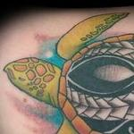 Tattoos - Polynesian turtle - 129098