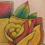 Tattoos - Texas Rose - 128430