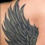 Tattoos - Black and White wings - 126165