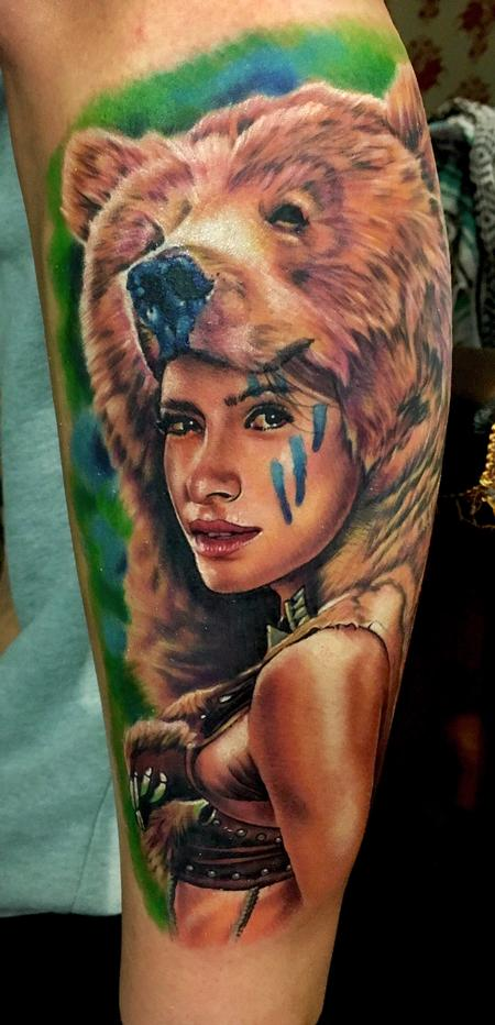 Tattoos - Bear Skin - 129658