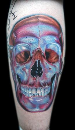 Evil Skull Tattoos