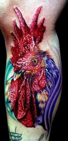Cecil Porter - Rooster Tattoo