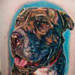 Tattoos - Dog on leg - 101618