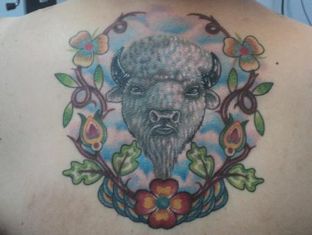 Derek Poitra - White Buffalo Tattoo