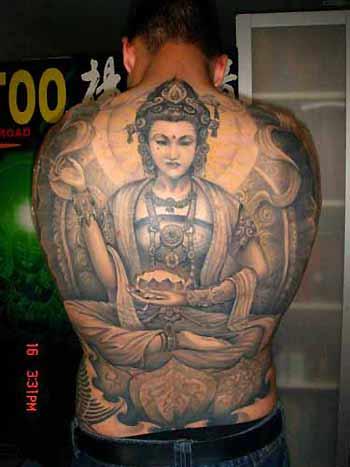 Tattoos - Lotus Position - 32149