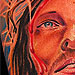 Tattoos - JESUS CHRIST Color Portrait Chris Burnett Art Junkies - 27515