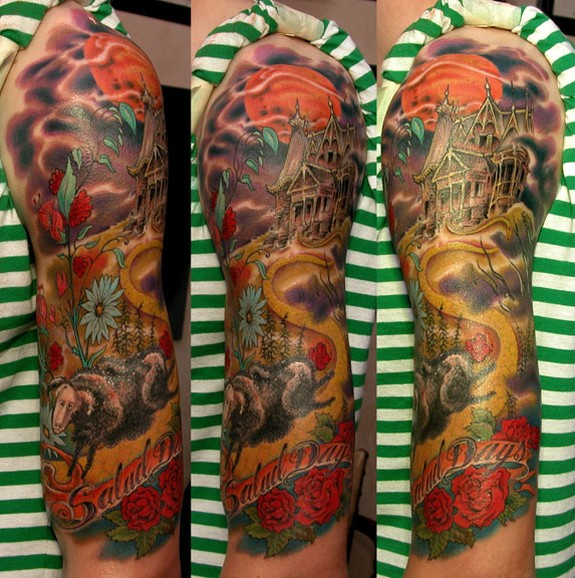 You'd never know from looking at it that this sleeve is a tribute to MINOR