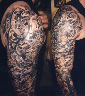 ... black and gray tattoos coverup tattoos evil tattoos custom tattoos