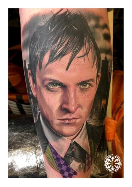 Chris Jones - Color portrait of Penguin from Gotham