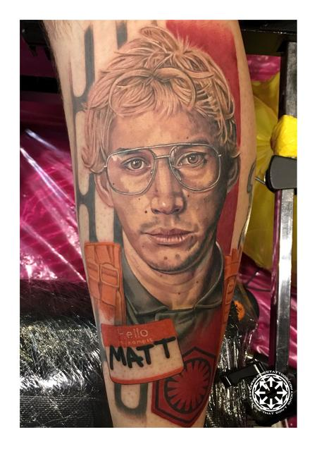 Color portrait of Matt the Radar Technician Design Thumbnail