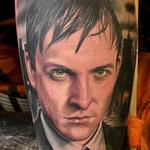 Color portrait of Penguin from Gotham Tattoo Design Thumbnail