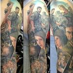 Last of Us sleeve Tattoo Design Thumbnail