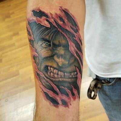 Tattoos - Hulk tattoo - 133103