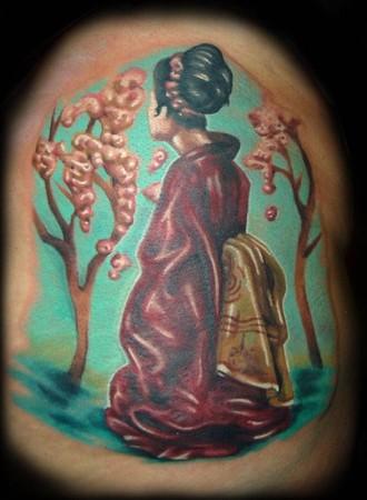Christian Tattoos on September 12 15 2013 Keystone Resort