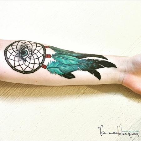 Tattoos - Dreamcatcher With Eye - 106359