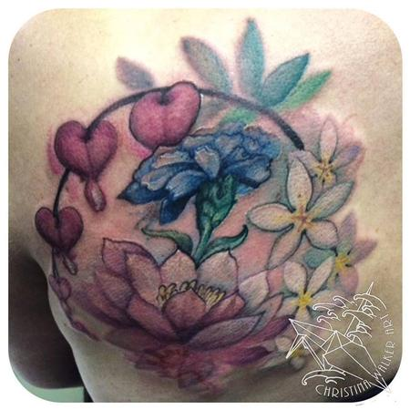 Tattoos - Watercolor Floral - 106357