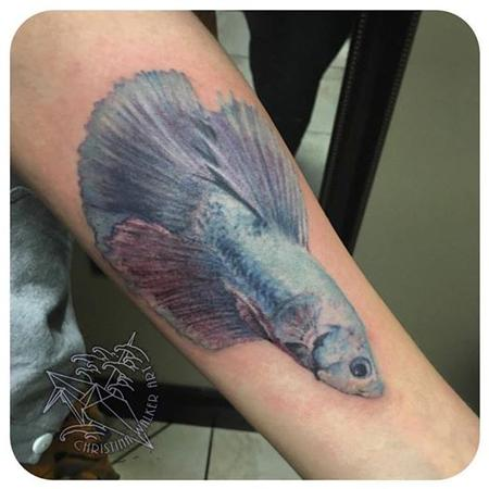 Tattoos - Betta Fish - 109301