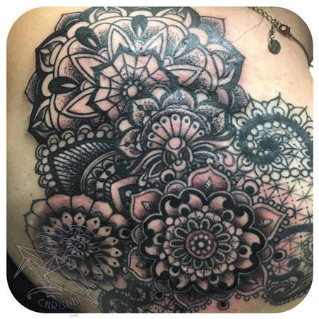 Tattoos - Ornate Mandala Backpiece - 111812