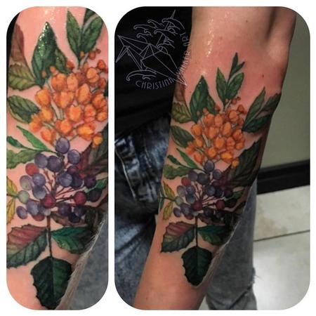 Tattoos - Oregon Grapes - 117370