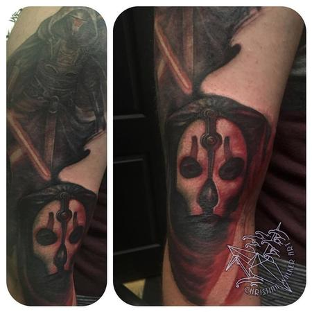 Tattoos - Star Wars Villain Sleeve- in progress - 122147