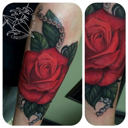 Tattoos - Red Rose - 106355