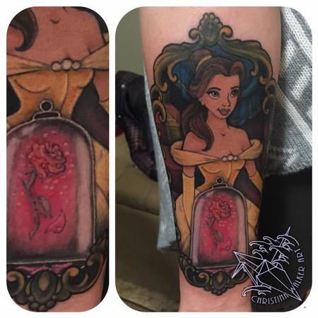 Tattoos - Belle from Beauty and the Beast - 125128