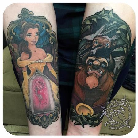 Tattoos - Beauty and the Beast  - 125737
