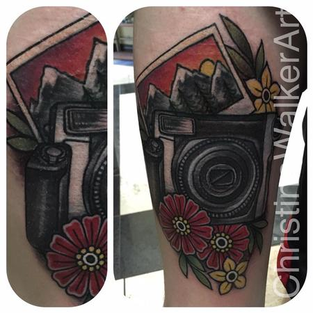 Tattoos - Traditional Polaroid camera - 125742