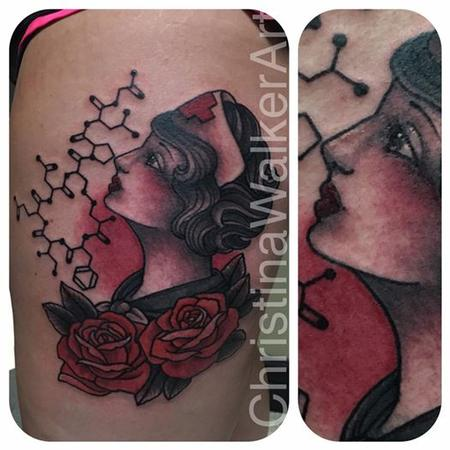Tattoos - Traditional Nurse - 127731
