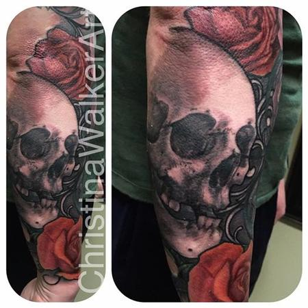 Tattoos - Skull and Roses - 127736