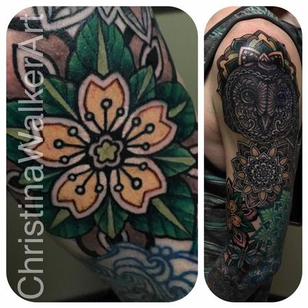 Tattoos - Ornate Full Sleeve in Progress - 127740