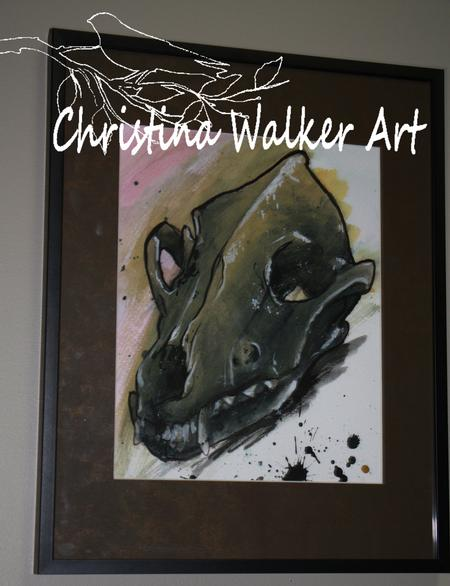 Christina Walker - Animal Skull