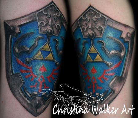 Tattoos - Zelda Shield - 63900