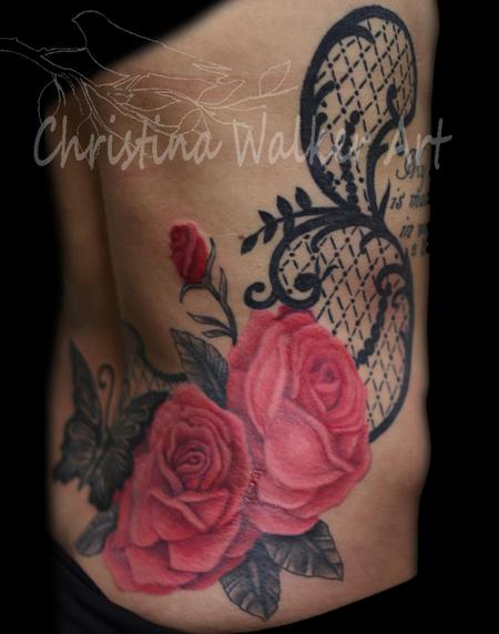 Christina Walker - Lace and Roses
