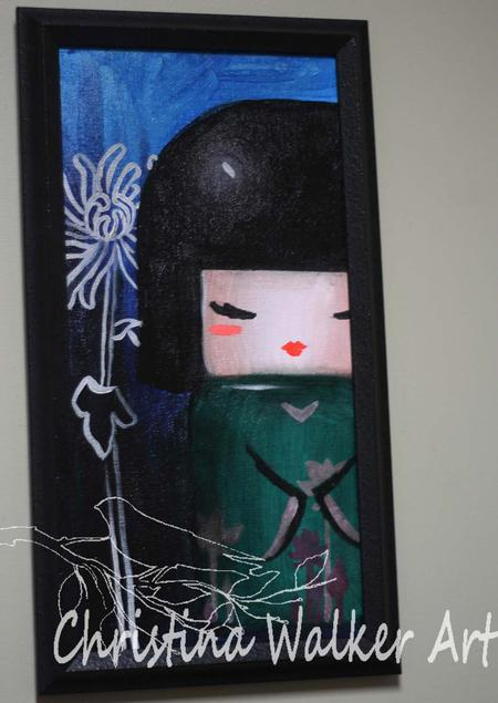 Tattoos - Kokeshi Doll - 70019
