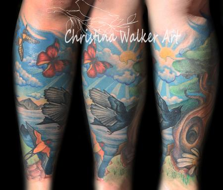 Tattoos - Nature Leg Sleeve [1st View] - 70368