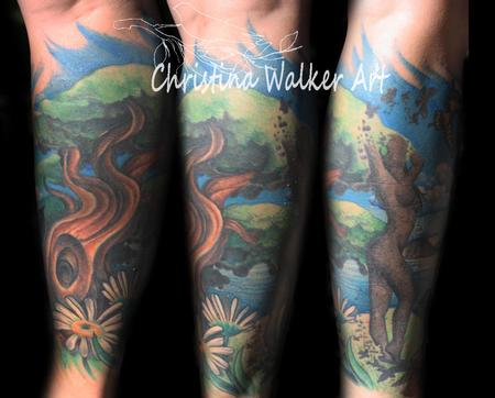 Tattoos - Nature Leg Sleeve [2nd View] - 70369
