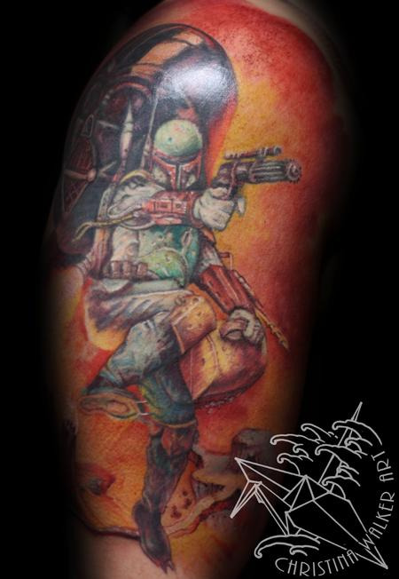 Tattoos - Star Wars Half Sleeve - 75203