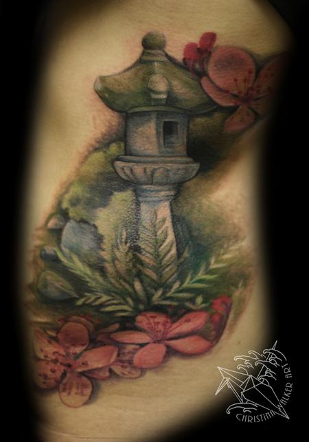Tattoos - Japanese Garden - 81010