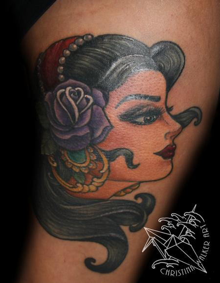 Tattoos - Gypsy Head - 94527