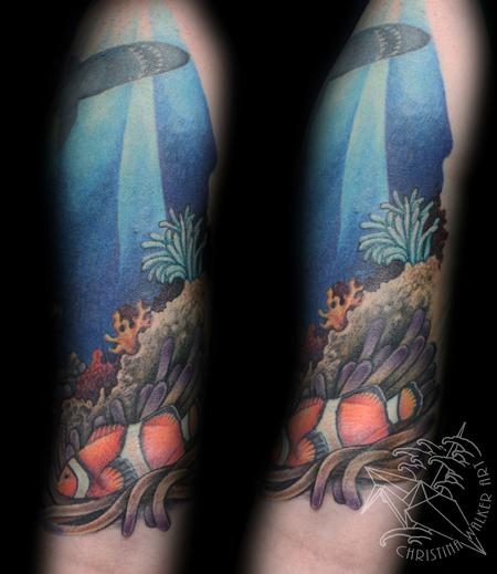 Tattoos - Ocean Half Sleeve  - 77779
