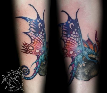 Tattoos - Fairy Dragon - 99663